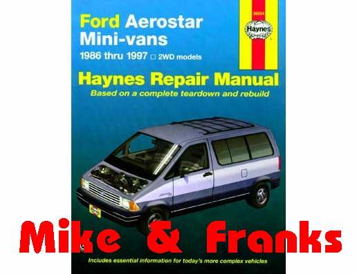 Manual De Reparaciones 36024 Explorer 91