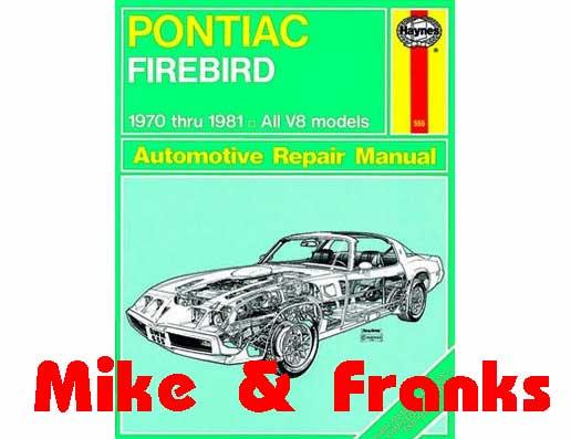 Reparaturanleitung 79018 Firebird Trans Am 70-81, M&F Online Store